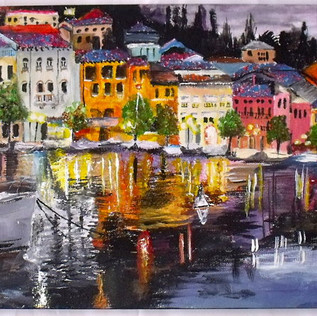 Italy Painting Lissieart