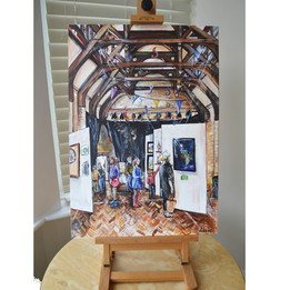 Live EventPainting on Canvas