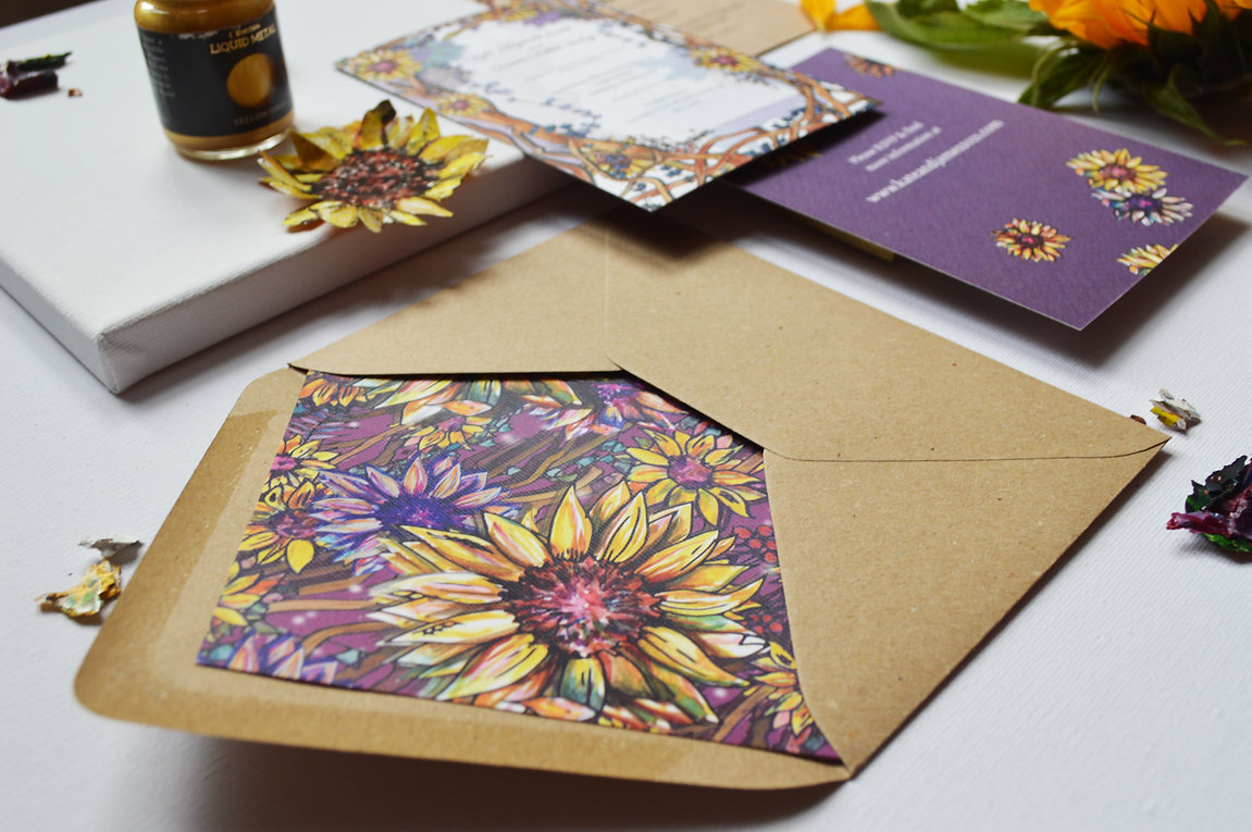 Sunflower Stationery Design Image 1.jpg