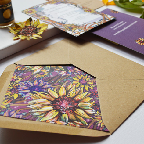 Sunflower Stationery Design Image 1.jpg