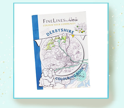 The Derbyshire Colouring Book