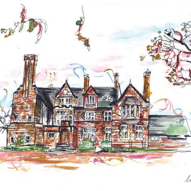 Wedding Venue Gift Drawing Bristol
