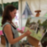 Lissie art Live Wedding Painter