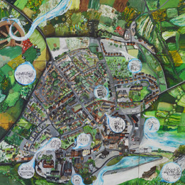 Derbyshire Mural Painting
