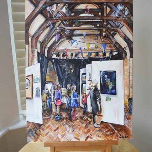 Live Painting Melbourne Art Festival