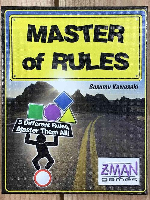 中古|ルールの達人 Master of Rules