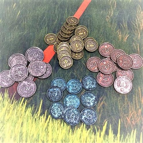 メタルコイン50枚 ロココの仕立て屋 Metal Coins: Set of 50 (Rococo)