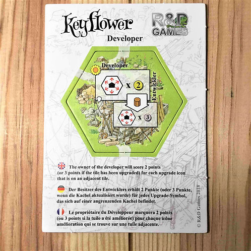 中古・和訳なし|キーフラワー デベロッパー Keyflower Developer