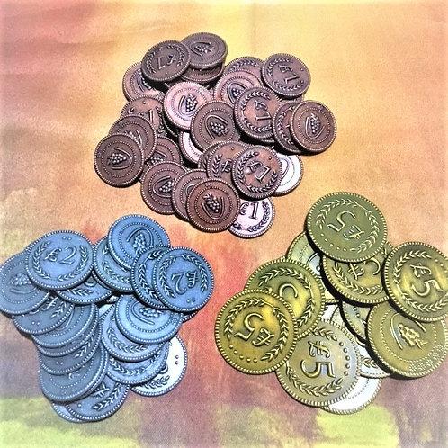 メタルコインセット72枚 ワイナリーの四季 Metal Coins: Set of 72 (Viticulture)