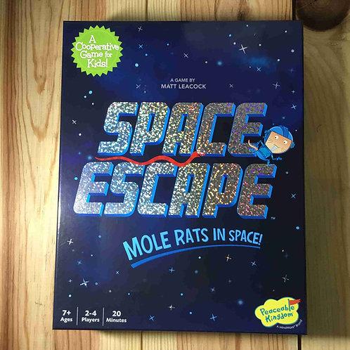 スペースエスケープ  Mole Rats in Space (宇宙のハダカデバネズミ)
