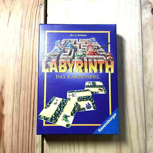 中古 カードラビリンス Labyrinth Das Kartenspiel