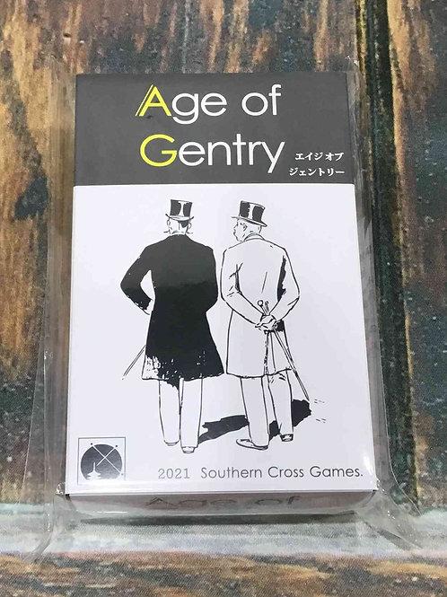 エイジオブジェントリー Age of Gentry