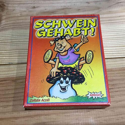 中古・和訳なし|ブタとキノコ Schwein gehabt!