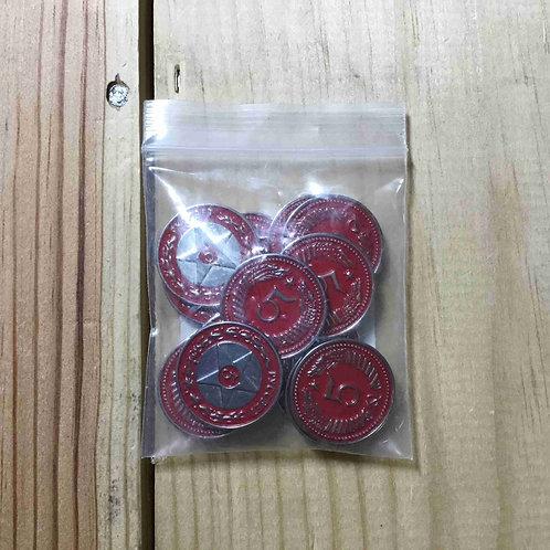 サイズ - 大鎌戦役 - アップグレード:5コイン赤    UPGRADE KITS For SCYTHE