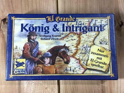 中古・和訳なし・拡張|エルグランデ拡張 王と参謀 El Grande: König & Intrigant