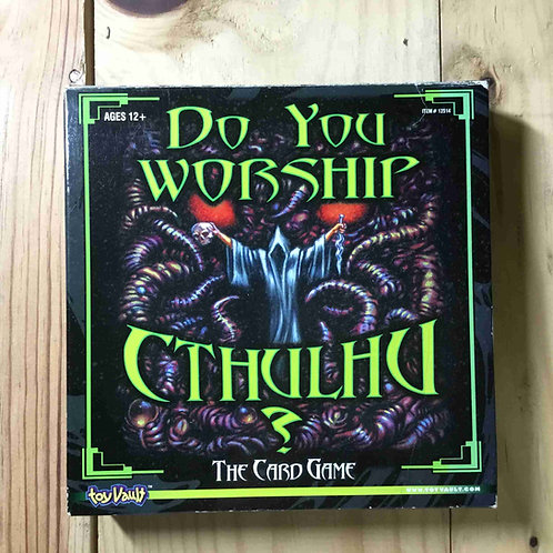 中古|あなたはクトゥルフを信仰していますか?  Do You Worship Cthulhu?