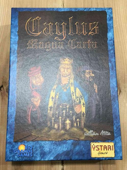 中古・和訳なし|ケイラス・マグナカルタ Caylus: Magna Carta