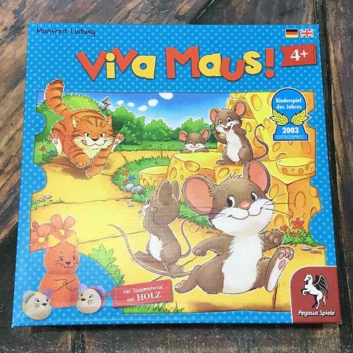 中古 ねことねずみの大レース Viva Maus!