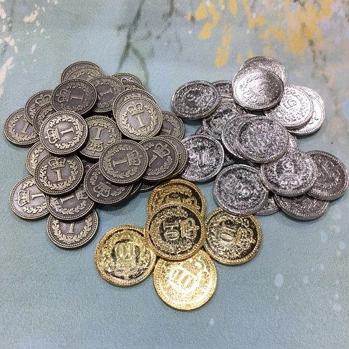 メタルコインセット55枚 ブラス リスボア Metal Coins: Set of 55 (Lisboa Brass)