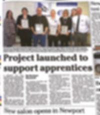 Isle of Wight County Press 26 th April p
