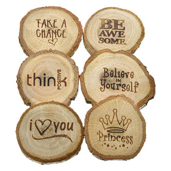 inspirational wooden magnets 2 5 in