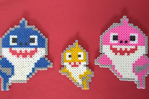 Baby Shark Pixel Art Set