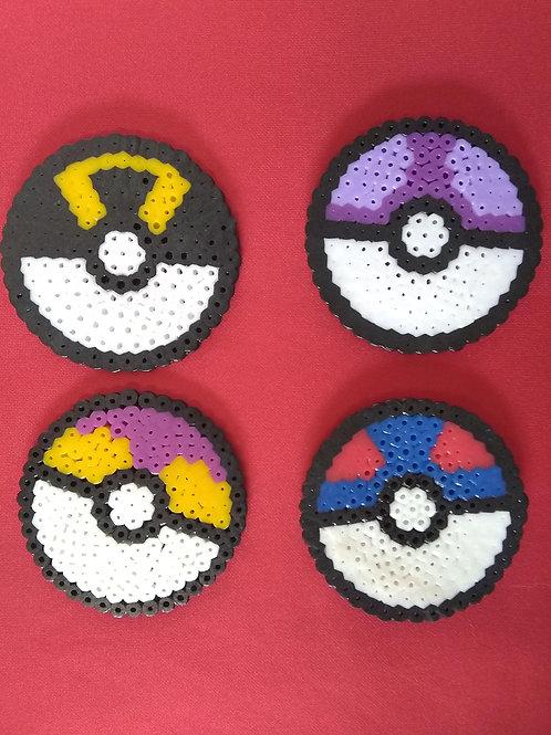 Pixel Art Poke Balls