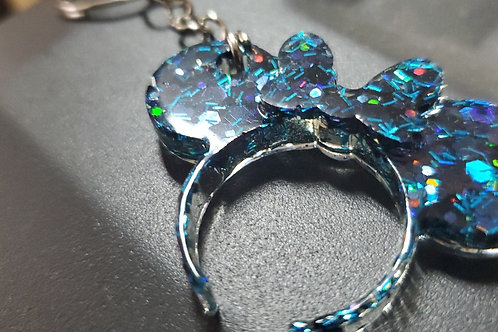 Mickey and Minnie Themed Key Chains