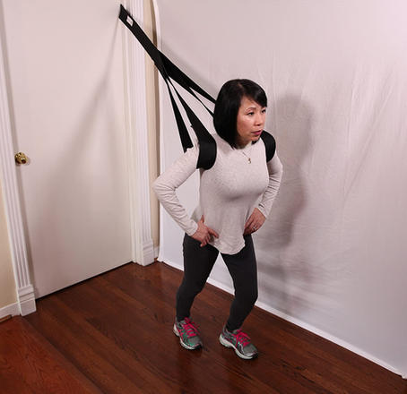 Chest and Calf Stretching Strap