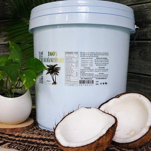 Dầu dừa nguyên chất - 19 lit