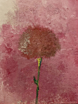 dandelion (detail from a painting)