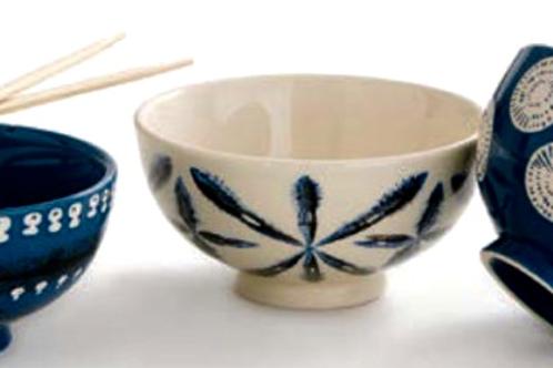 Shibori Bowls- Set of 3 NEW!