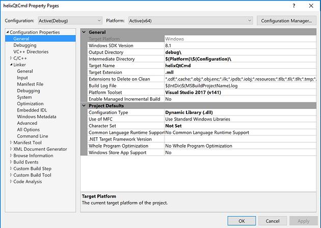 Maya Qt for Visual Studio