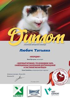 Семинар 29 11 64 кошки 17 Любич Татьяна.