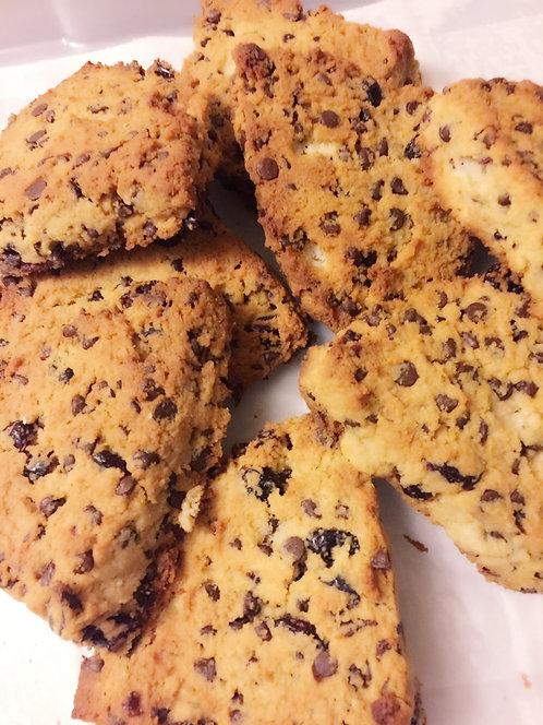Gluten-Free Chocolate Cranberry Scones (min 3 pcs)