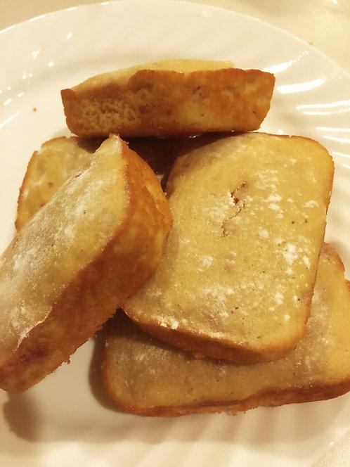 Gluten-Free Lemon Raspberry bar bread (3 bars min)