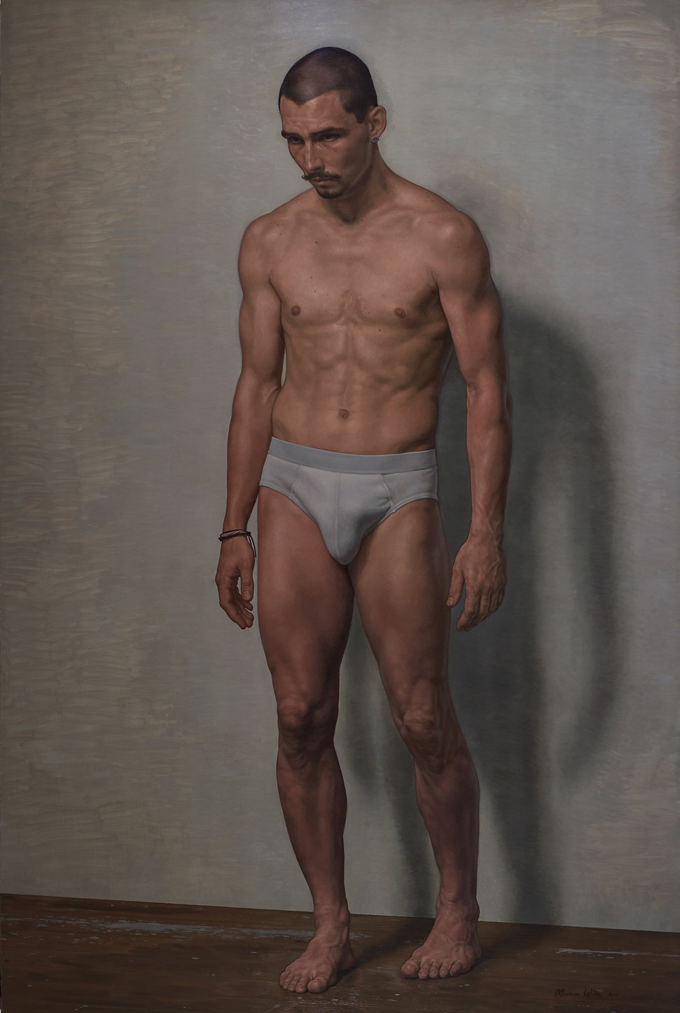 marcus wills portrait of james batchelor
