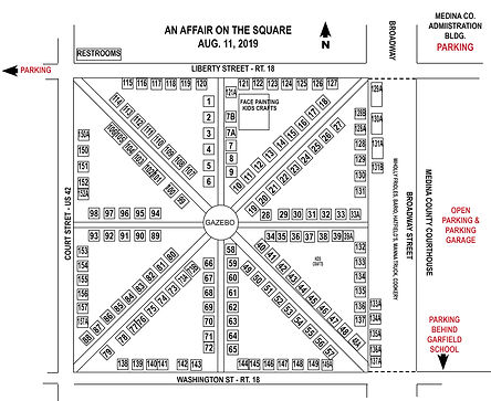 An Affair on the Square 2019 crafter lay