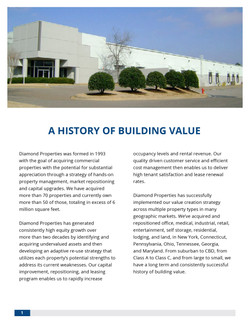 Investor Brochure   Page 1