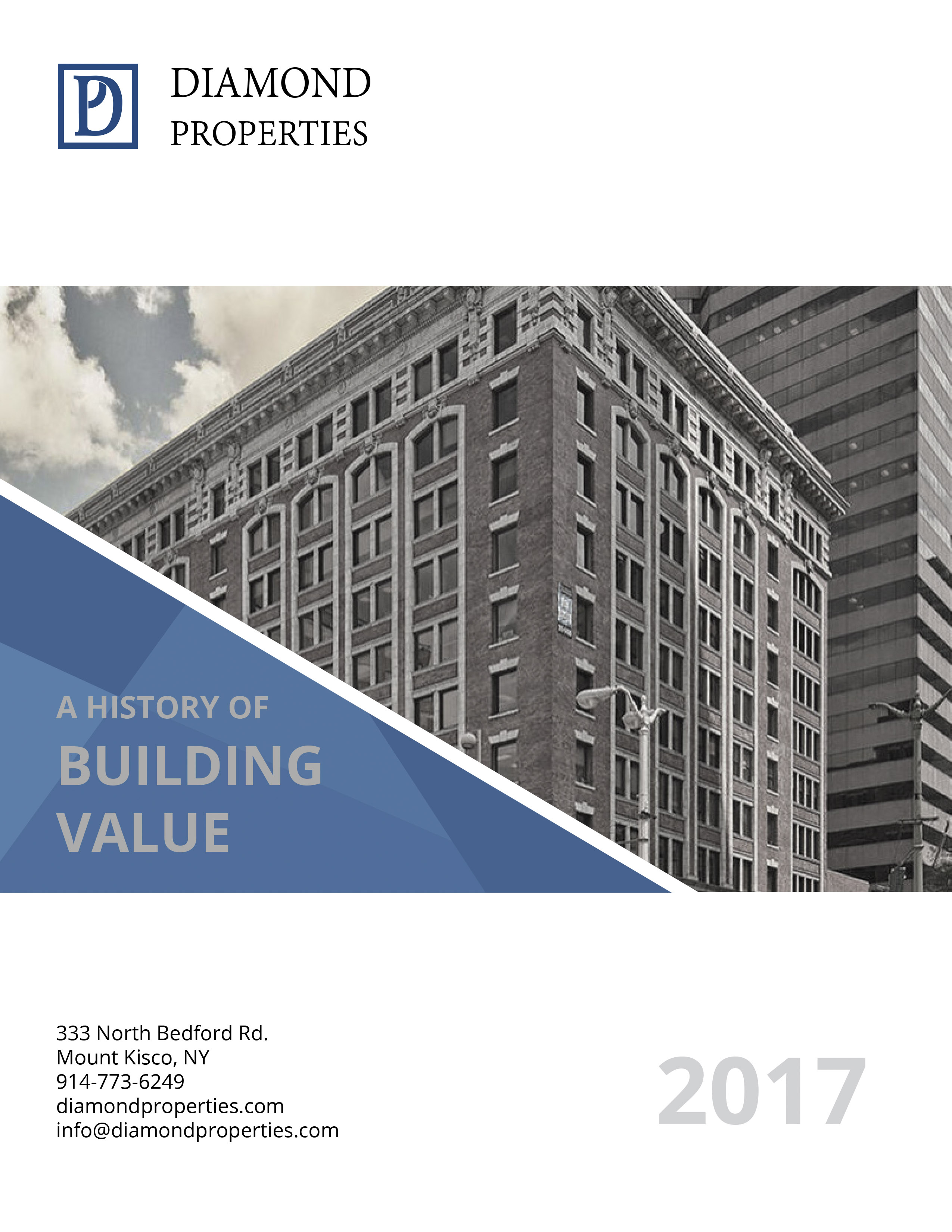 Investor Brochure | Cover