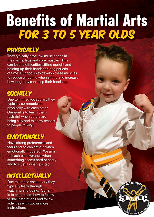 A3 Benefits of Martial Arts for Kids - 5