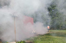 Mosquito Control Fogger In the Crosbyarea. Mosquito Control consists of treating Residential Homes, Neighborhoods, HOA's, Streets,Wooded Trails, Storm drains, Swamps, Gardens, Commercial Establishments and others