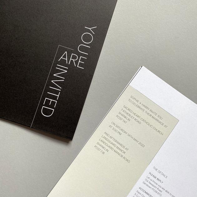 Oslo Wedding Invitation