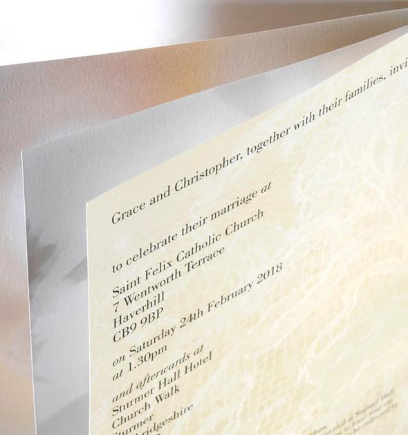 Geneva Wedding Invitation