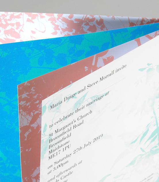 Lavenham Wedding Invitation