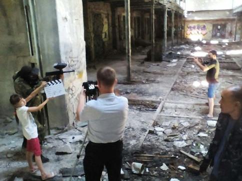 Съёмка игрового, постановочного видеоролика.