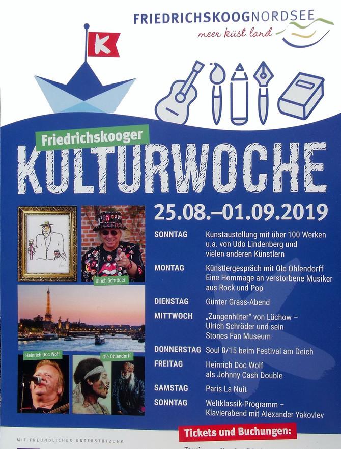 En concert au Festival Kunstgriff. la semaine culturelle de Friedrichskoog