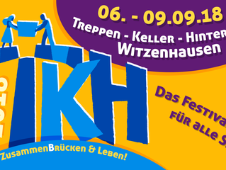 Konzert @Festival Treppen, Keller, Hinterhöfe in Witzenhausen