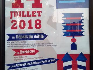 14 Juli Konzert in  la Ferté sous Jouarre