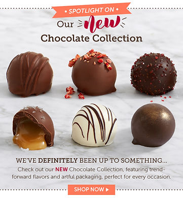 Chocolate Truffle email launch